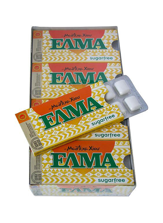 ELMA Sugar free gum with mastic