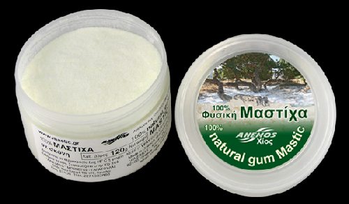 Natural Chios gum mastic grounded in powder 120g