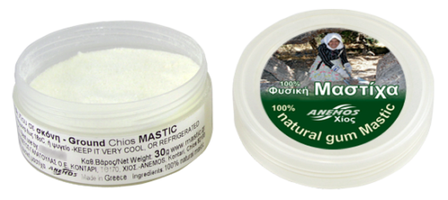 Natural Chios gum mastic grounded in powder 30g