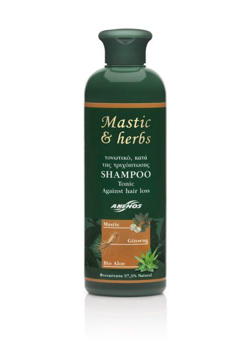 Σαμπουάν mastic & herbs Τονωτικό. Κατά της τριχόπτωσης 300ml