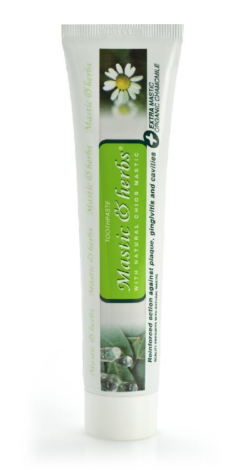 Dentifrice Mastic & Herbes au mastic et à la camomille