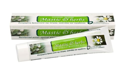 Toothpaste Mastic & herbs with mastic and Bio camomile