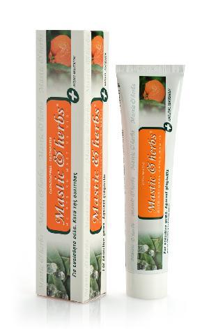 Toothpaste Mastic & herbs with mastic & mandarin
