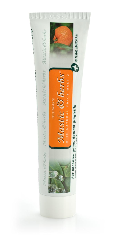 Zahnpasta Mastic & Herbs mit Mastix und Mandarine