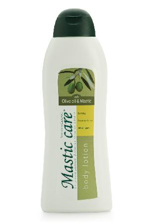 """οσιόν Σώματος """"Olive oil & mastic"""" με ελαιόλαδο & μαστίχα 300ml"""