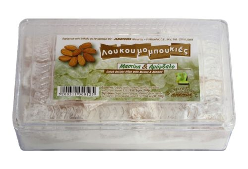 Greek Delight Mastic and almond plastic box 300g
