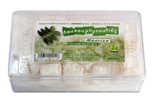 Λουκούμια Χίου Μαστίχα σε πλαστ. κουτί 300g