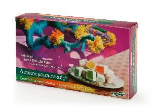 Λουκούμια Χίου κοκτέϊλ σε χαρτ. κουτί 200g