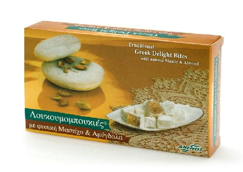 Greek Delight with natural mastic and almonds 200g