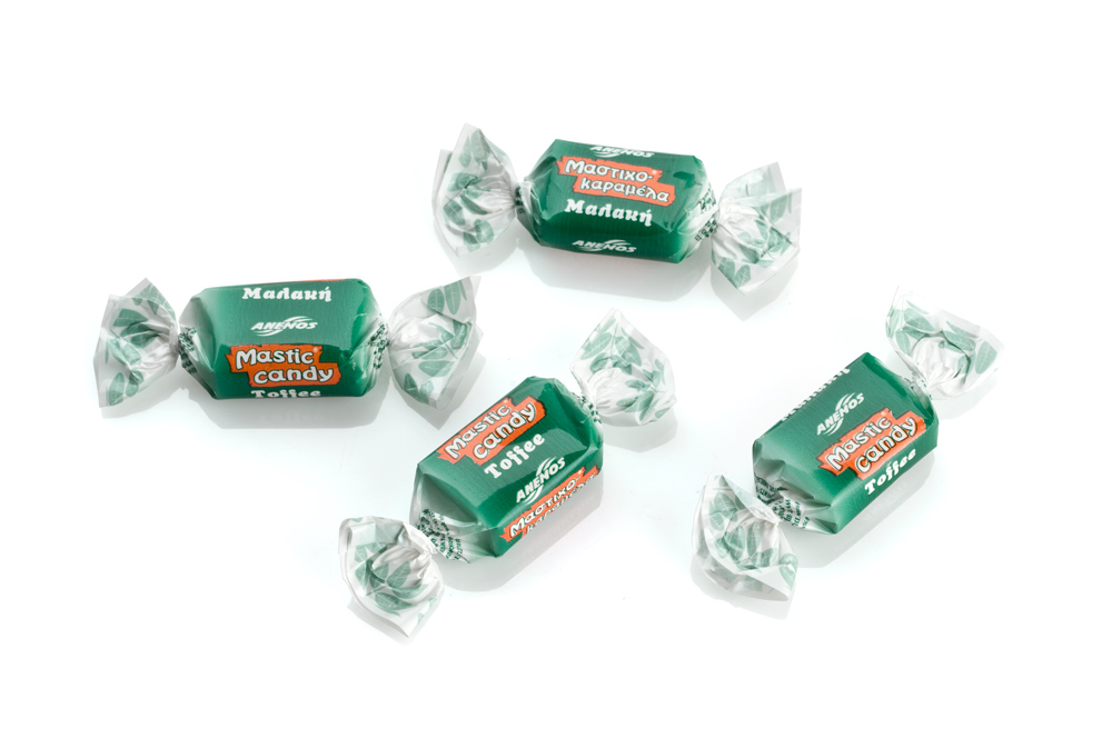 Mastic candy toffee. Bulk