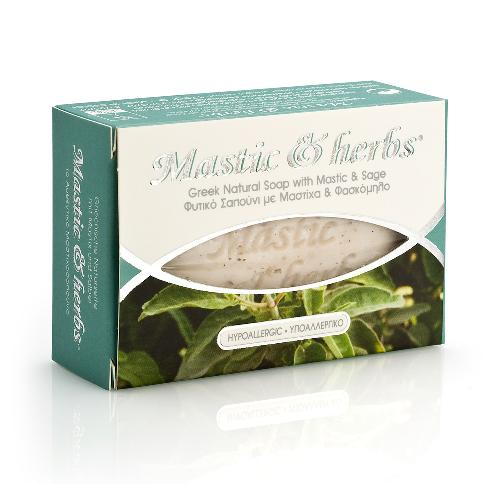 Savon Mastic & Herbs à la sauge