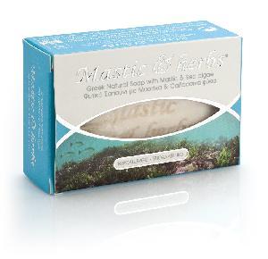 Mastic & herbs soap with sea algae