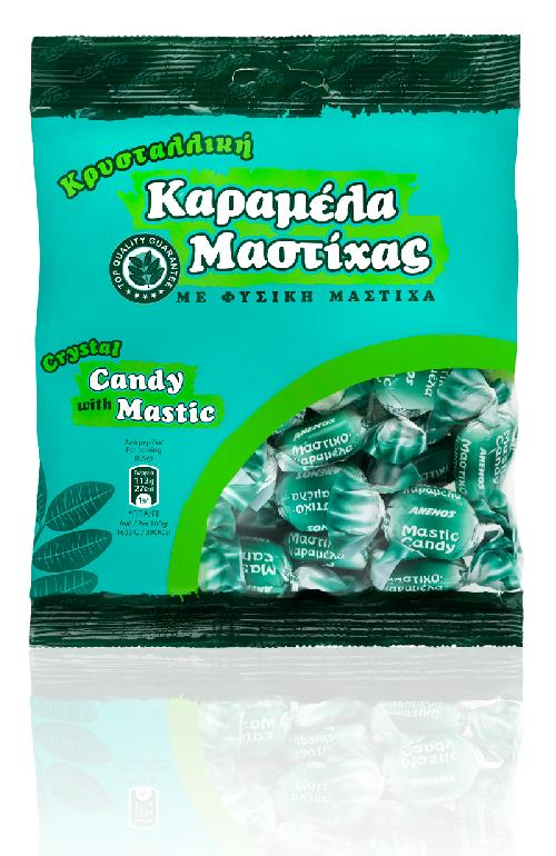 Mastic sugar candy crystal. Bag 230g