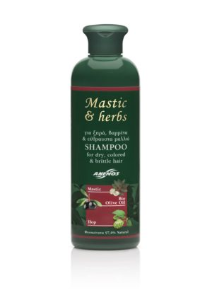 Shampoo mastic & herbs for dry - colored or brittle Hair 300ml