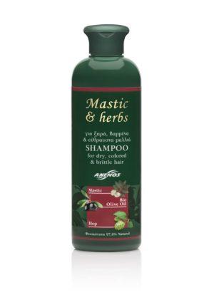 Shampoo Mastic & herbs für gefärbtes und strapaziertes Haar 300ml