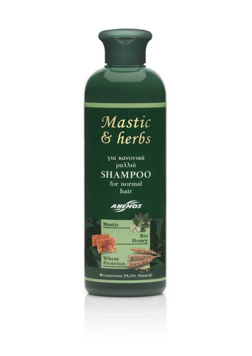 Σαμπουάν mastic & herbs για κανονικά μαλλιά 300ml