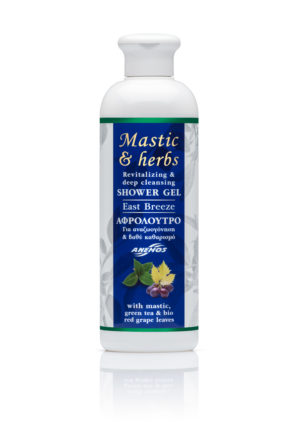 "Αφρόλουτρο mastic & herbs ""East Breeze"" 300ml"