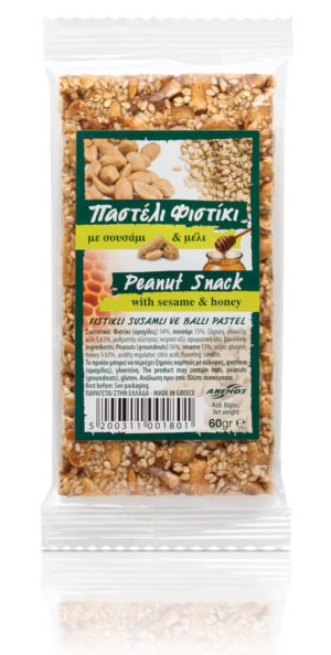 Snack with peanuts and some sesame 60g