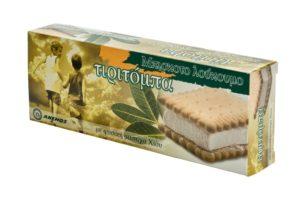 Tiritoba mastiha delight with biscuit