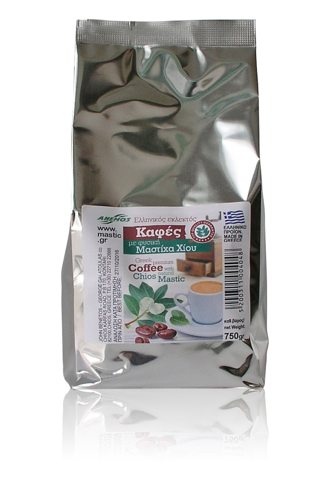 Greek coffee with mastic 750g