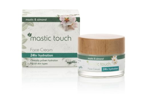 24h Hydration mastic touch face cream with mastic & almond 50ml