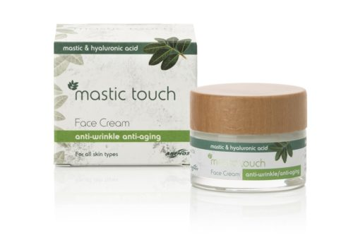 Anti wrinkle, anti ageing cream with Mastic & Hyaluronic Acid 50ml