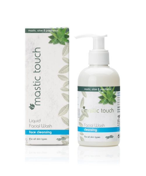 Facial wash mastic touch with mastic, aloe and panthenol 200ml