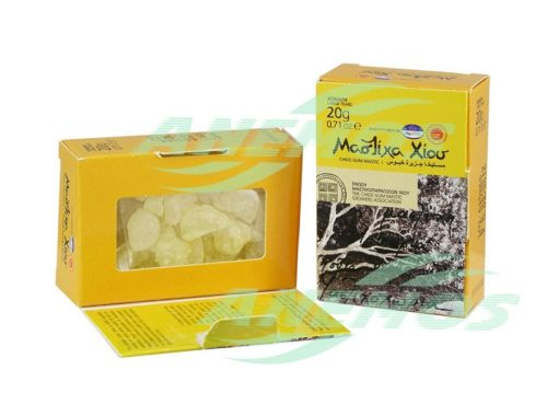 Natural Chios Mastic Box Back 20g Large Size Tears