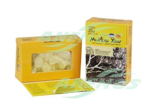Natural Chios Mastic Box Back 20g Large Size Tears