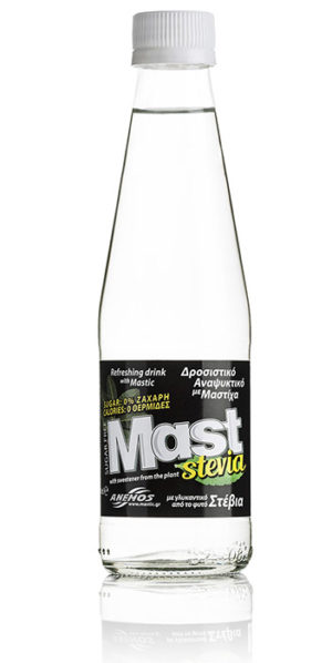 Mast refreshing soft drink with mastic & stevia