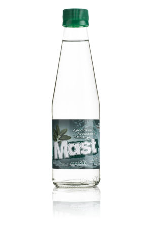 Mast soft drink with mastic glass bottle 250ml