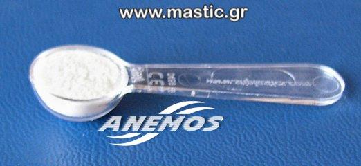 Natural Mastic powder Dosage Spoon