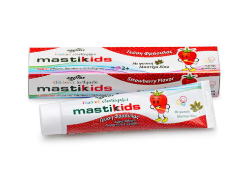 Toothpaste for children with mastic & Strawberry