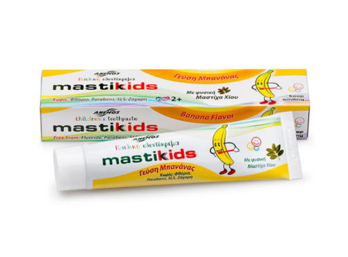 Toothpaste for children with mastic & banana