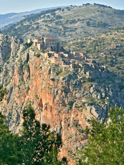 Anavatos ancient abandoned