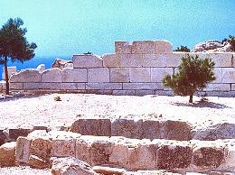 Αρχαιολογικός χώρος στο Εμποριός της Νότιας Χίου