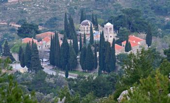 Byzantine Nea moni monastery