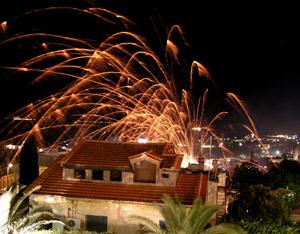 Vrondados, (Vronandes) Just north of Chios town