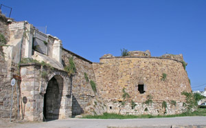 The castle in Chios town