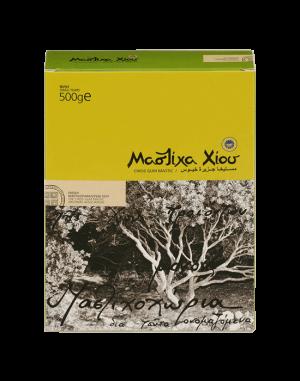 Natural Chios mastic. Box 500g (No5) Small size pieces