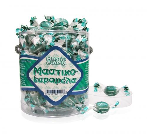 Bonbons cristallins au mastic de Chios. Boîte 250g