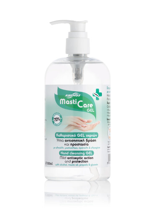 Alcoholic Cleansing Hand Gel Mastic Care 500ml