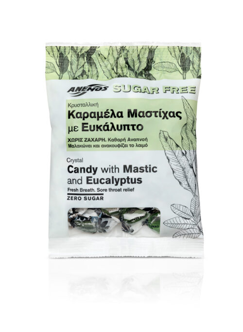 Crystal Candy Mastic Eucalyptus Sugar Free