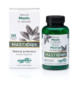 MASTICaps - Κάψουλες μαστίχας με 330mg φυσική μαστίχα. 120 κάψουλες