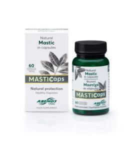 MASTICaps - Κάψουλες μαστίχας με 330mg φυσική μαστίχα. 60 κάψουλες